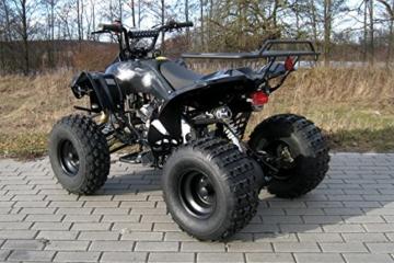 Kinder Quad S-10 125 cc Motor Miniquad 125 ccm schwarz Warriorer -