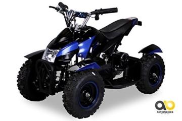 Mini Elektro Kinder ATV Cobra 800 Watt Pocket Quad (blau) -