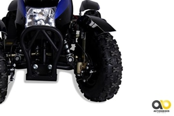 Mini Elektro Kinder ATV Cobra 800 Watt Pocket Quad (blau) -