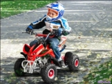 Mini Quad ATV Kinderquad 49 cc Powerquad 49ccm 2011 NEU -