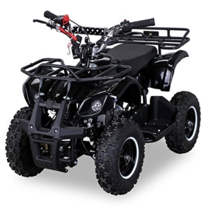 NEU Kinder Miniquad TORINO 49 CC MOTOR 2 Takt ATV Pocket Quad Kinderquad Kinderfahrzeug schwarz -