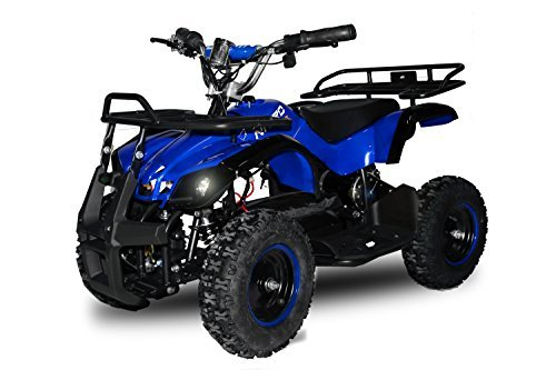 "49cc Torino 6"" E-Start Miniquad Atv Kinderquad Cross Quad Mini (Blau) -"