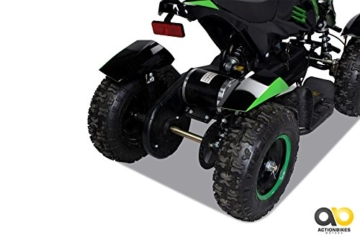 Mini Elektro Kinder ATV Cobra 800 Watt Pocket Quad (grün) -