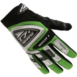 GP-Pro Neoflex 2 Cub Kinder Motorrad-Handschuhe - Offroad/Motocross - Grün - XS - 1
