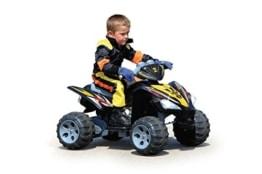 Jamara 404640 - Fahrzeuge, Ride-on Quad, 12 V - 1