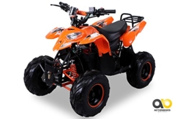 Kinder Elektro Quad S-5 Polaris Style 1000 Watt Miniquad orange - 1