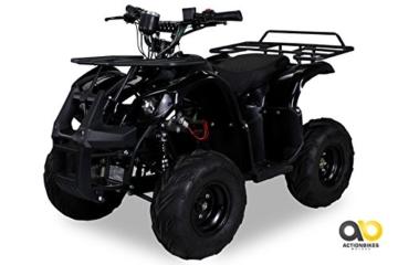 Kinder Elektro Quad S-8 Farmer 1000 Watt Miniquad schwarz - 1
