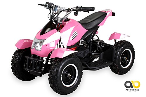 mini elektro kinder atv cobra 800 watt pocket quad pink. Black Bedroom Furniture Sets. Home Design Ideas