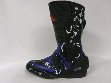 NEU RACING KIDS STIEFEL XTRM ADVENTURE SPORTS KINDER QUAD STIEFEL BLAU (36) - 2