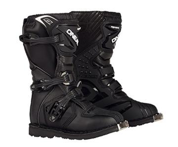 O'Neal Kids Rider Boot Schwarz Kinder MX Stiefel Größe 32 -