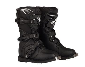 O'Neal Kids Rider Boot Schwarz Kinder MX Stiefel Moto Cross Enduro, 0324KR-1, Größe 32 - 1