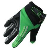 Qtech - Kinder Motocross-Handschuhe - Grün - XXS (ca. 6-9 Jahre - 1