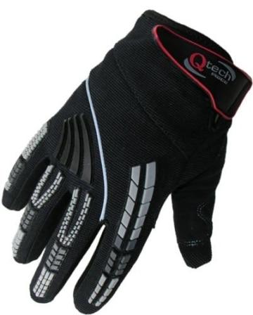 Qtech - Kinder Motocross-Handschuhe - Grün - XXS (ca. 6-9 Jahre - 5