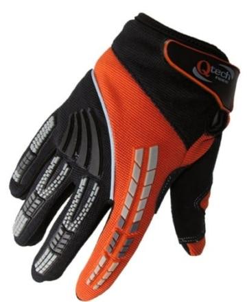 Qtech - Kinder Motocross-Handschuhe - Grün - XXS (ca. 6-9 Jahre - 6