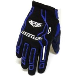 Wulfsport Force 10 Cub - Kinder Motorrad-Handschuhe - Motocross - Blau - 3XS - 1