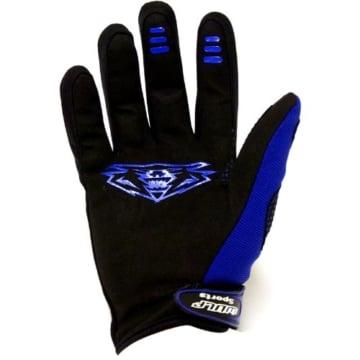 Wulfsport Force 10 Cub - Kinder Motorrad-Handschuhe - Motocross - Blau - 3XS - 2